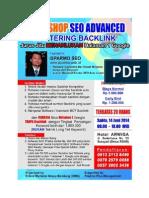 Workshop SEO Bandung Juni 2014