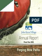 2012 John Knox VillageAnnual Report