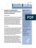 ASPE Barriers to Immigrants' Access to Health and Human Services Programs