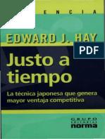 Justo a Tiempo - Edward J. Hay