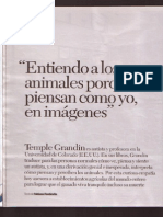 Entrevista Temple Grandin