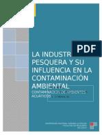 102932423 La Industria Pesquera y Su Influencia en La Contaminacion Ambiental