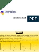Interpolasi numerik