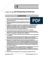 Solution Manual CH 05 FInancial Accounting Reporting and Analyzing Inventories