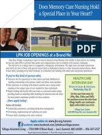 Valley View Nursing Recruitment Ad 05-14