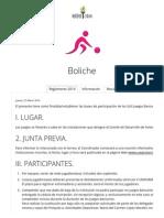 Boliche - Juegos Bancarios 2014