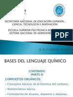 Bases Del Lenguaje Químico (Compuestos Orgánicos)