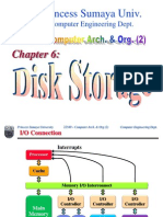 Chapter 6 - Disk Storage