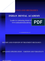 Appliance and Mechanics / orthodontic courses by Indian dental academy