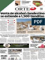 Periódico Norte de Ciudad Juárez edición impresa del 13 mayo de 2014