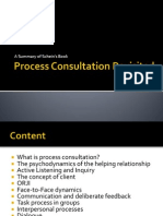 process consultation revisited - my summary