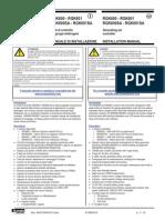 RGK 600 Installation Manual
