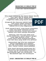 KUPERSEMBAHKAN UNTUK ANGKATAN 115 DIKLAT PIM IV DEPDIKNAS