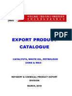SINOPEC Catalyst,Coke,Wax