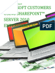 Microsoft Customers using SharePoint™ Server 2010 Enterprise CAL - Sales Intelligence™ Report