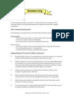 Teacher Reading Tips_ Summarizing