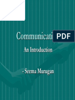 36184021 Communication the Basics
