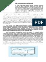 Analisis Kebijakan Fiskal Di Indonesia Artikel