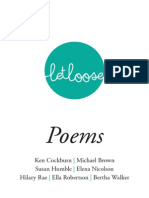 Let Loose Poems Booklet