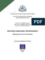 Suport de Curs Gestiunea Financiara a Intreprinderii