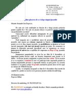 Scrisoare Publicitara Cu Raspuns Direct