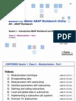 AW.S1.C3.D1 - Modularization Part I V01
