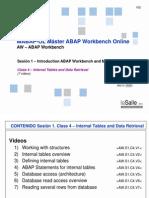 QeS AW.S1.C4.D1 - Internal Tables and Data Retrieval V03
