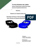 Linha de pintura automóveis relatório RobotStudio