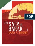 The Saga Of Barak (Paperback) by David Brierly