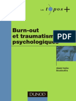 Burn-out Et Traumatisme Psychologique
