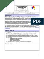 SOP Dimethyl Sulfoxide