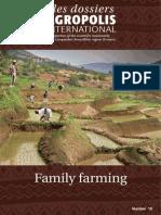 """Family Farming """"les dossiers d'Agropolis"""""""