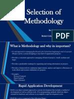 Selection of Methdology - SAD (Task1) - S.sutharshan