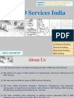CAD Services India offers highly-detailed Drafting services to clients worldwide