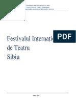 Festivalul de Teatru Sibiu