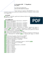 LEGE Nr 188 - 1999 Statutul Functionarilor Publici