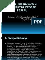 Model Keperawatan Menurut Hildegard Peplau