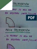 Mesh Generation notes (FINITE ELEMENT METHODs)