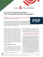 La crise de la pilule en France