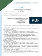7.6 Loi Du 27 Janvier 2014 (MAPAM)