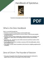 The Stoic Handbook of Epictetus