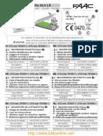 Notice FAAC XT2 XT4 433 SLH