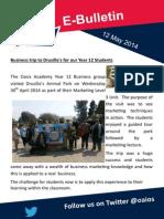 Parents' E-bulletin 9 May 2014