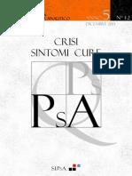 n6 Quaderni Psicoanalisi Psicodramma Analitico 2013