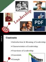 Leadership Content