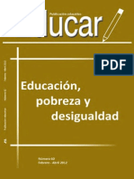 Educación y Pobreza Dialectica de La Comunidad