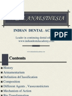 Local Anaesthesi (Nxpowerlite) / orthodontic courses by Indian dental academy