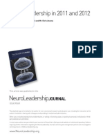 01 NeuroLeadership in 2011 and 2012 US