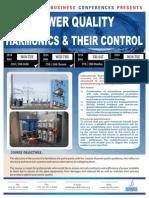 Power Quality - Harmonics & Their Control