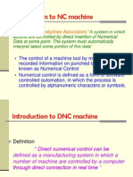 Introduction to NC,CNC and DNC